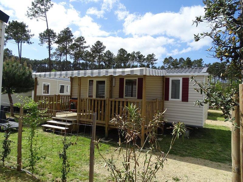 Mobil Home aux 'Dunes de Contis'  Village Vacances - Contis, holiday rental in Bias