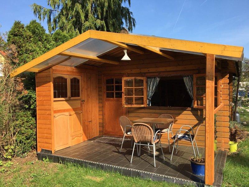 Log Cabin avec terrasse