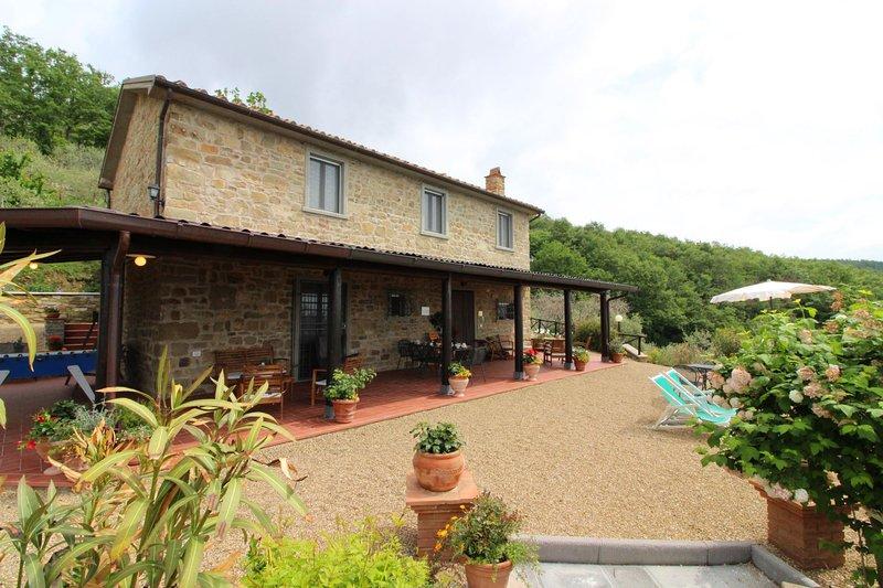 AGRITURISMO CA DI VESTRO - CA DI VESTRO, location de vacances à San Giustino Valdarno