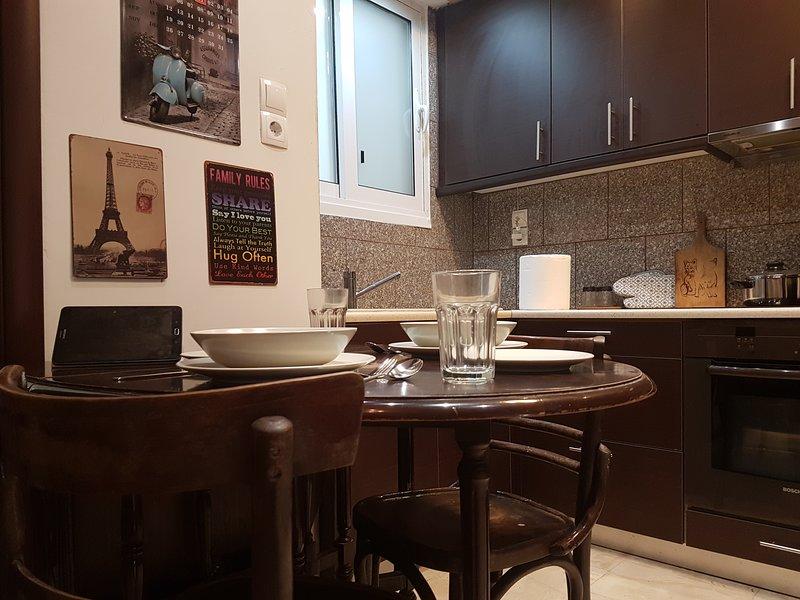 Athens White Velvet - Business Apartment, holiday rental in Chaidari