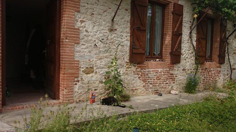 Séjours de ressourcement et médiation dans le Gers, vacation rental in Aubiet