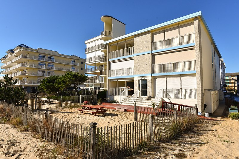 Direct ocean front condo 3rd floor with beautiful views from this large balcony. 3 Bedrooms 2 baths