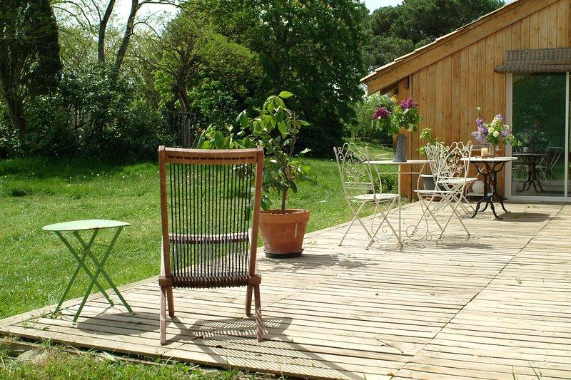 Gîte Crinières de l'Aube - Nature & Chevaux, location de vacances à Manciet