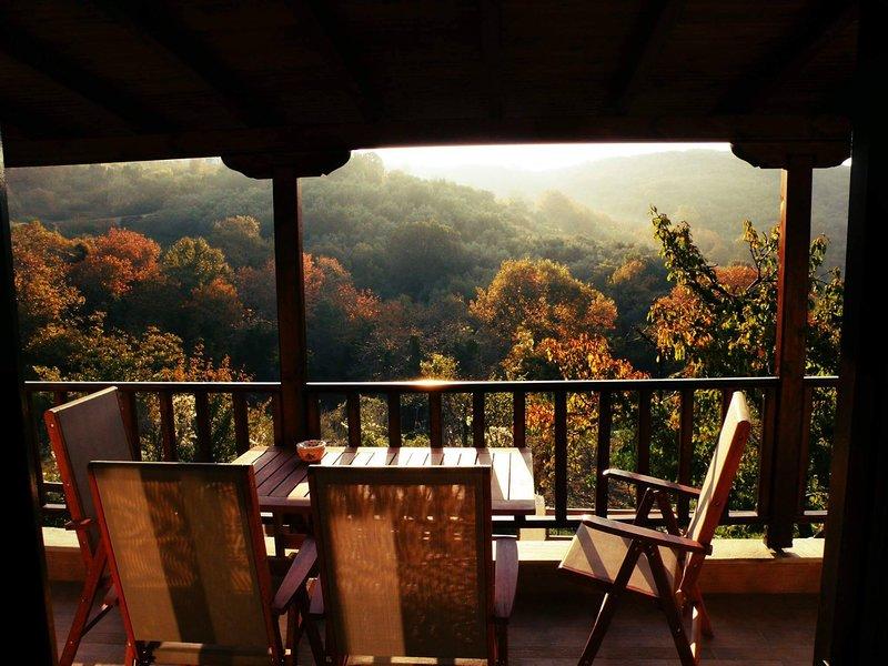 Pelion Chalet, location de vacances à Agria