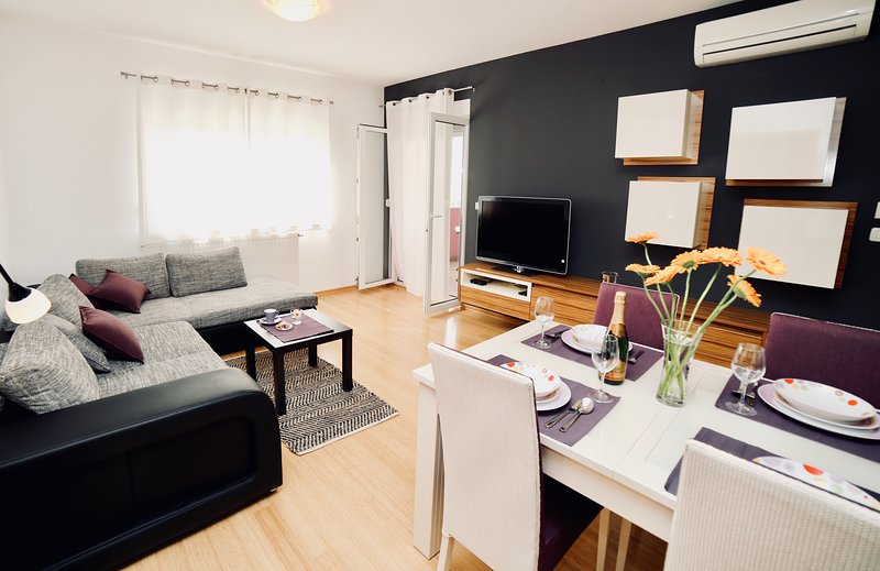Brand new cosy apartment with 3 bedrooms