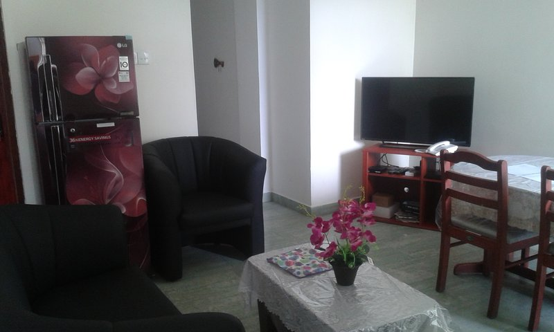 Fully furnished, two bedrooms with ac,inernet, car park, 24 hours security., vacation rental in Uswetakeiyawa
