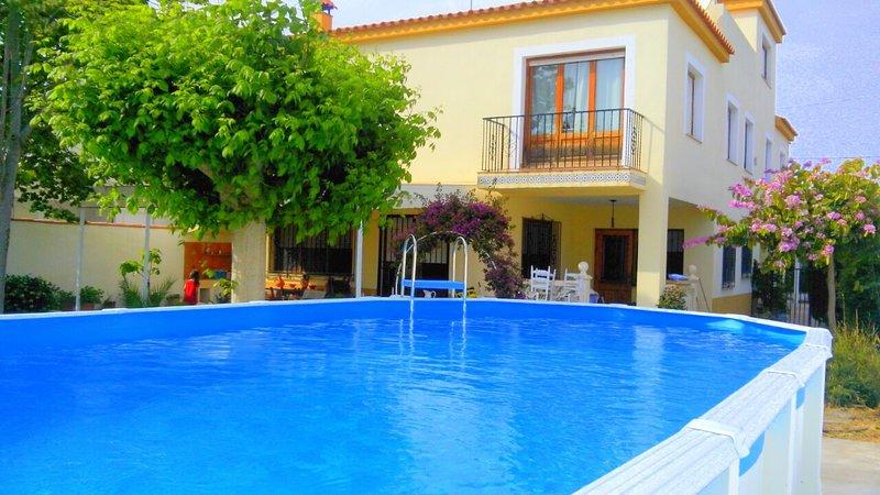 PRECIOSO CHALET CON PISCINA PRIVADA GRANDE EN LA PLAYA., holiday rental in Vinaros
