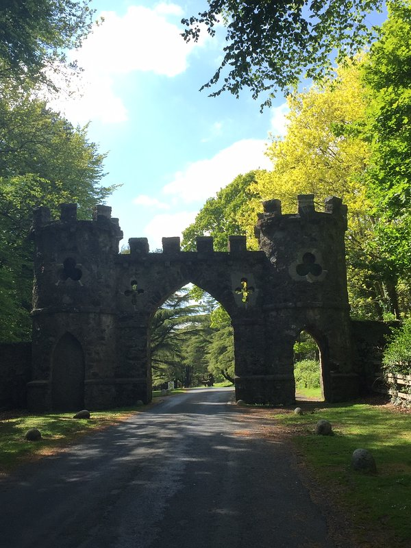 Barbican Gate entrance,  Tollymore.