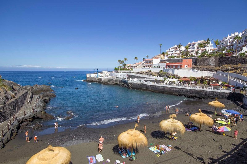 Apartamento Estudio Frente a la Playa, Ferienwohnung in Puerto de Santiago