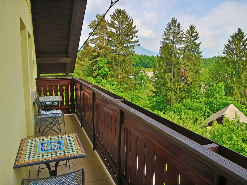 Rear Balcony with wonderful views.
