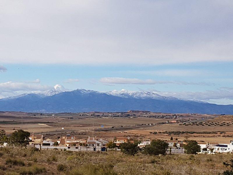 Views of the Natural Park of Sierra Espuna