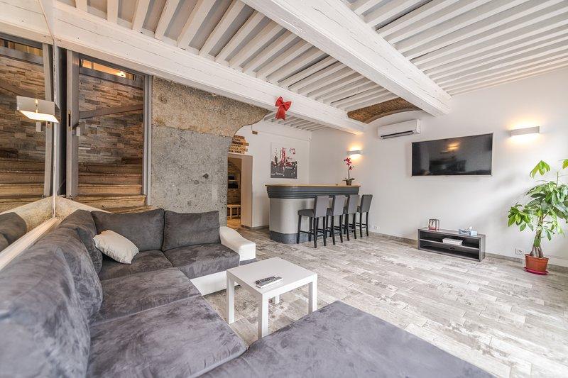 Gîte 'Le Rive Droite', aluguéis de temporada em Charnay