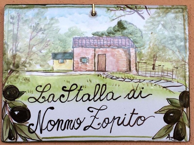 casa vacanza Abruzzo- La stalla di nonno Zopito, alquiler vacacional en Villa Oliveti