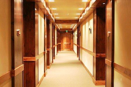 Pasillo del Lodge