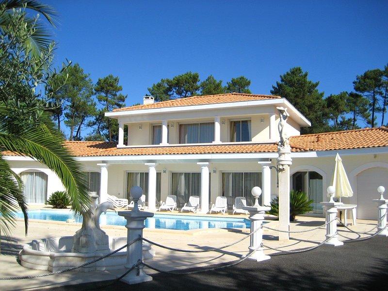 Spacious villa with swimming-pool, holiday rental in Boucau
