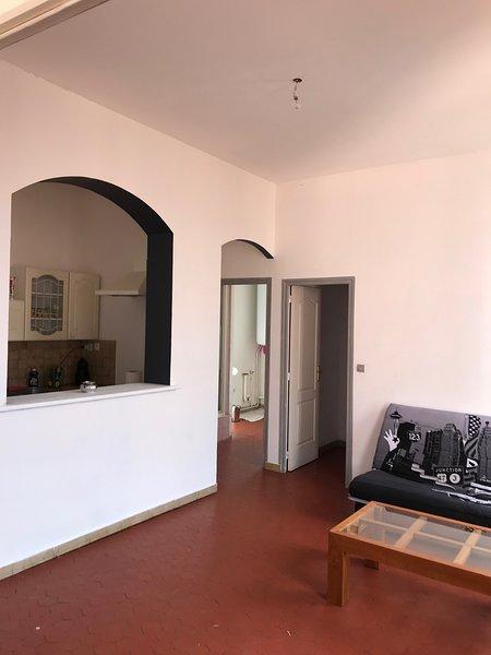 appartement en centre-ville, location de vacances à Brignoles