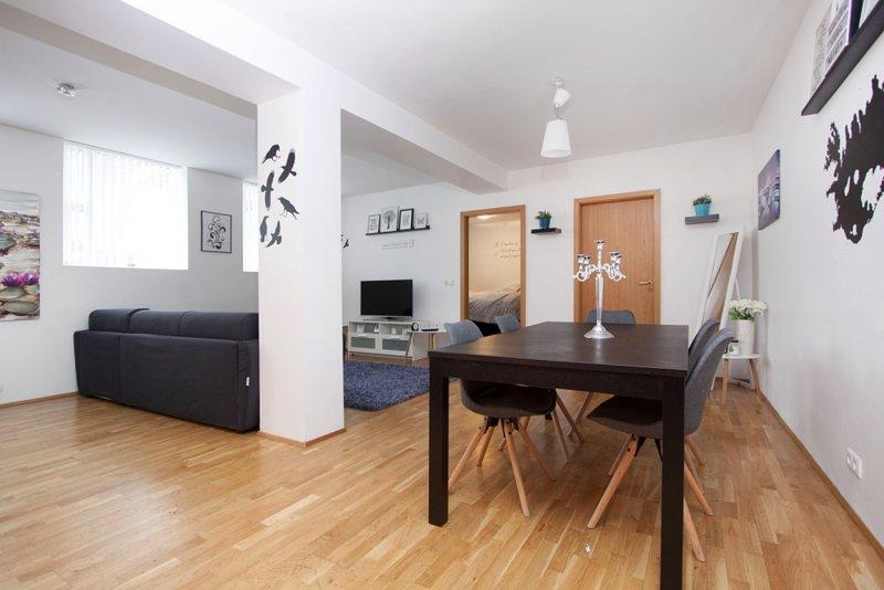 La vista dell'appartamento