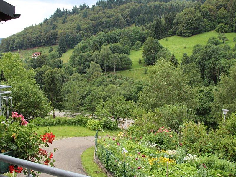 Apartment Gartentraum Todtnau - Romantische Ferienwohnung im Schwarzwaldstil, Ferienwohnung in Bürchau