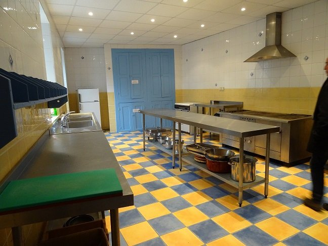 a large kitchen for your prospective Banquet