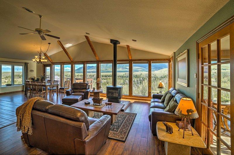 Sumergirse en la naturaleza en 'Elk Mountain', una hermosa casa de vacaciones!
