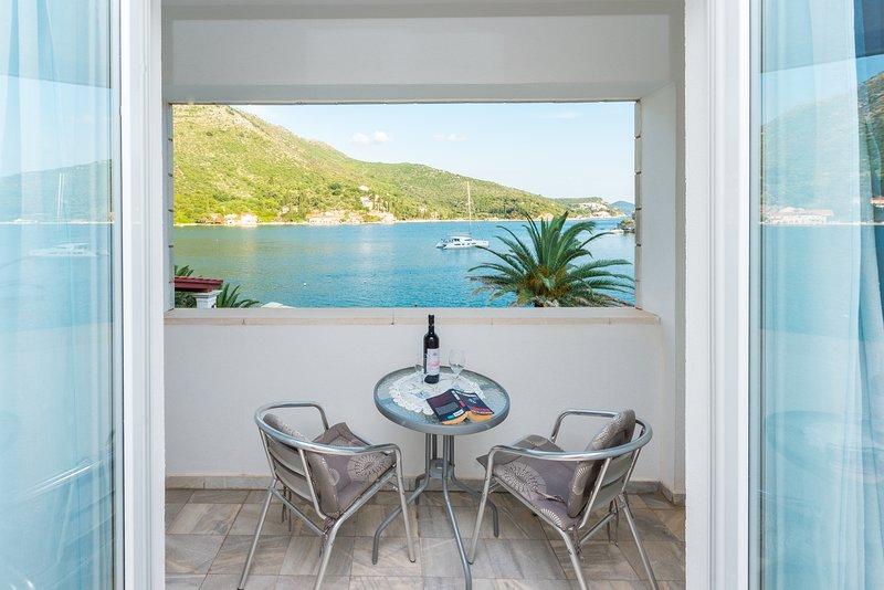 Villa Mare&Filip, Sea view studio 4, alquiler vacacional en Zaton