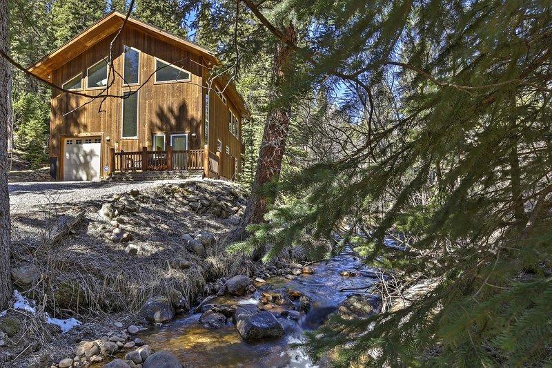 Creekside Mtn House w/ Deck: 8 Mi to Idaho Springs, location de vacances à Downieville