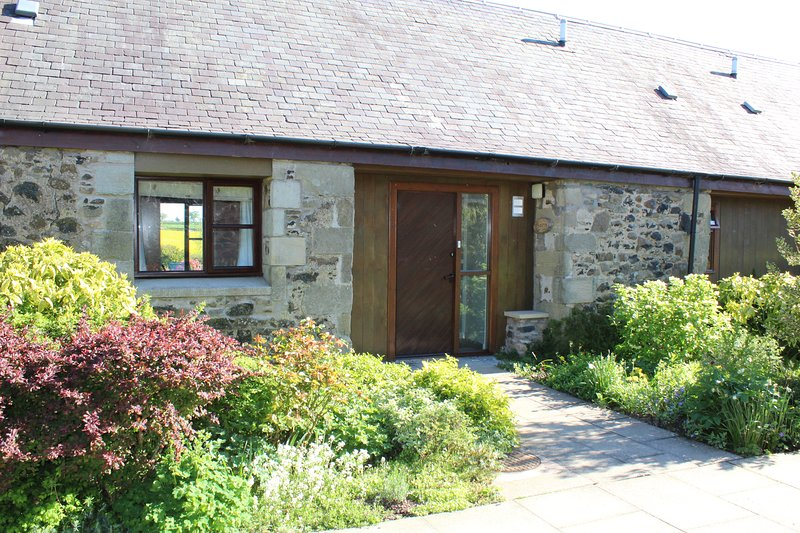 Level access from our carpark to Thairn cottage.