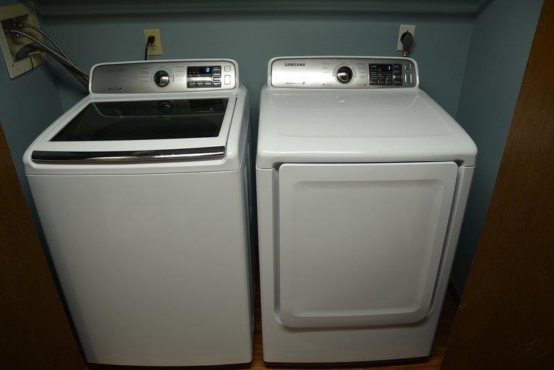 Lavadora e secadora para seu uso