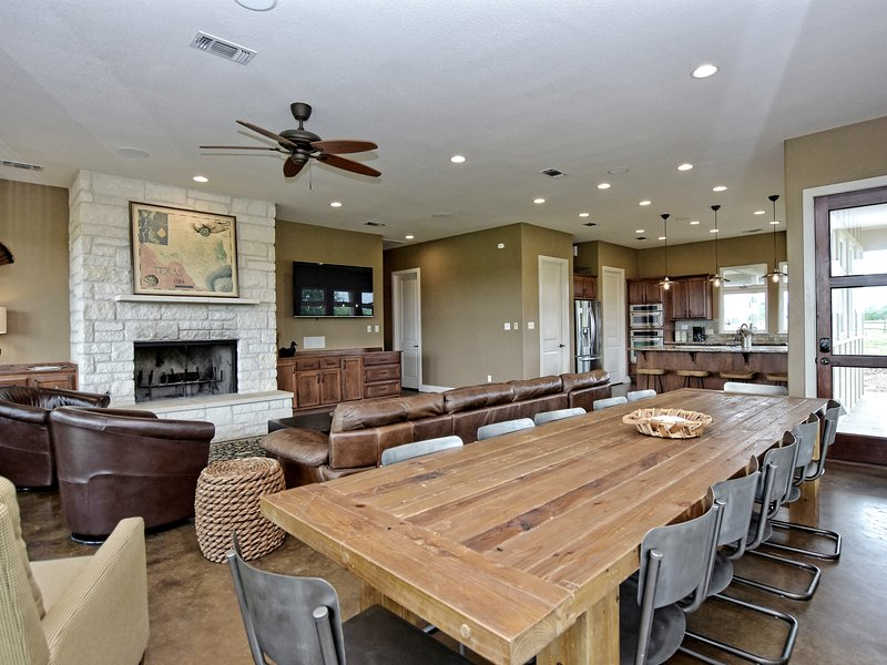 Pecan River Ranch-Dining Room