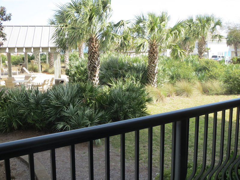 Partial view of Ocean from Balcony...listen to the waves roll in!