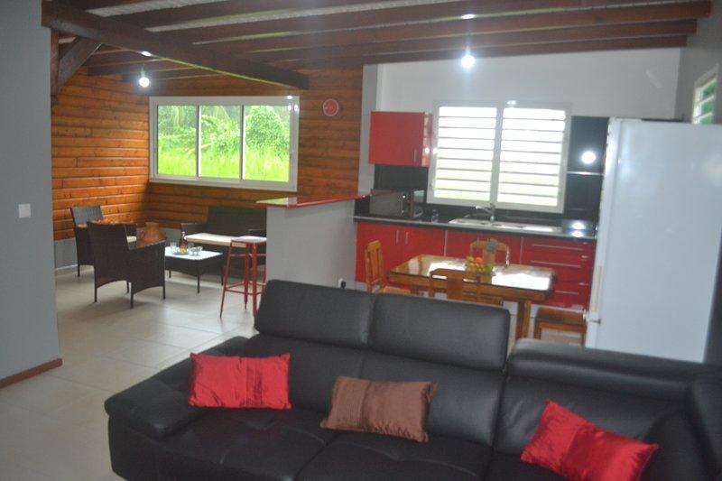 Villa Cerise-Café, location de vacances à Sainte Rose