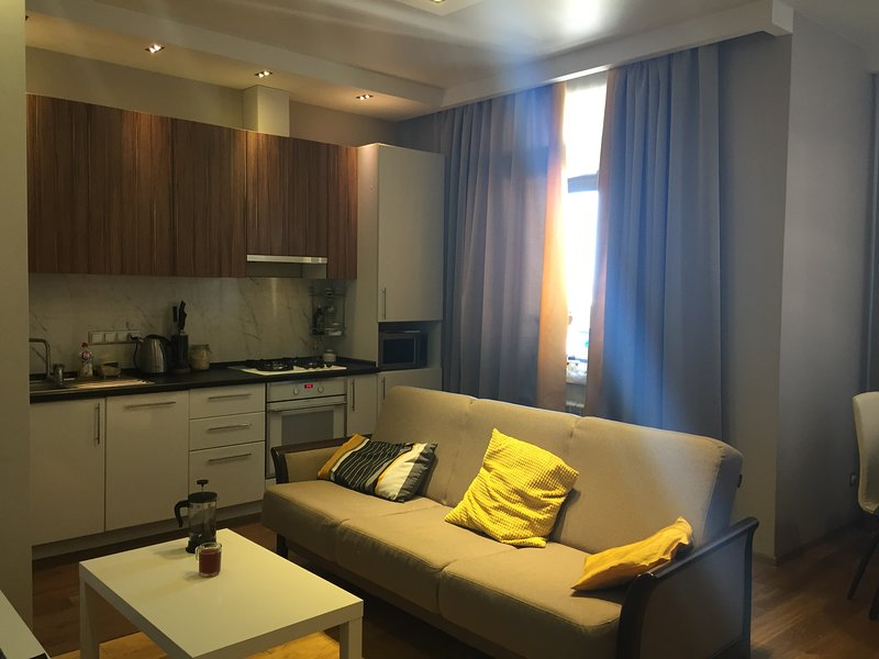 Modern Apartment near Major City Attractions, alquiler vacacional en Distrito del Volga