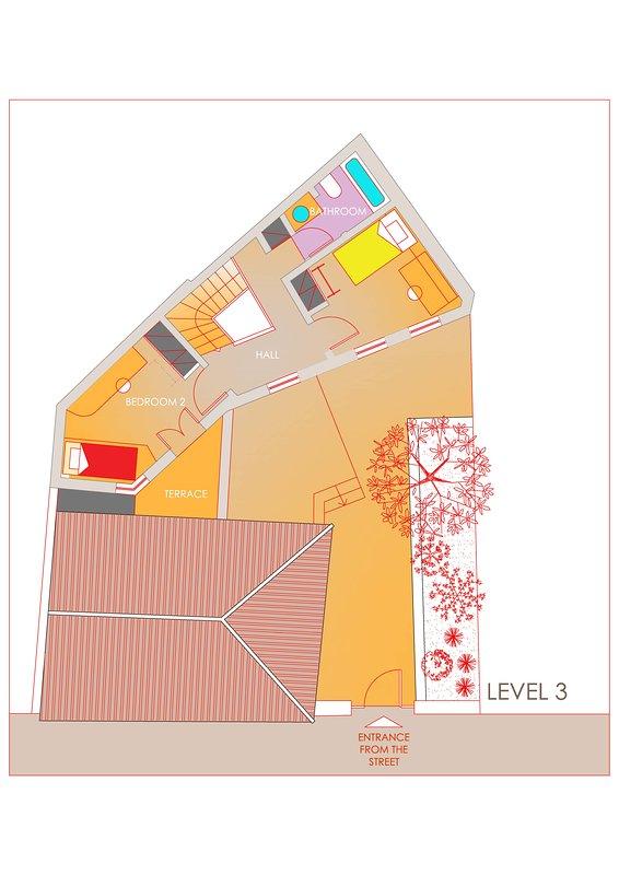 Disposition. 3ème niveau