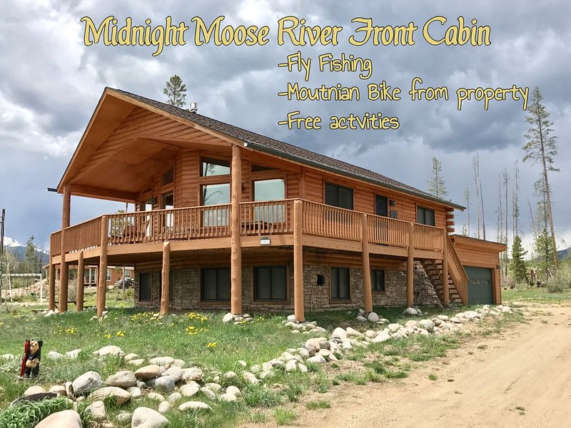 Beautiful custom cabin with fantastic views