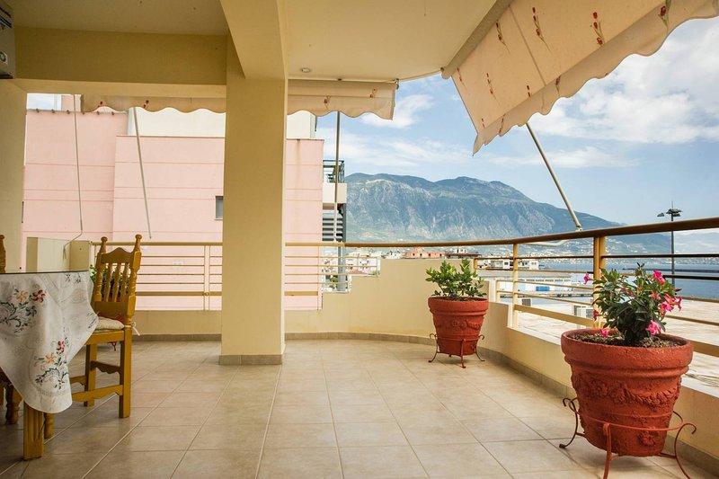 Bella vista dal balcone
