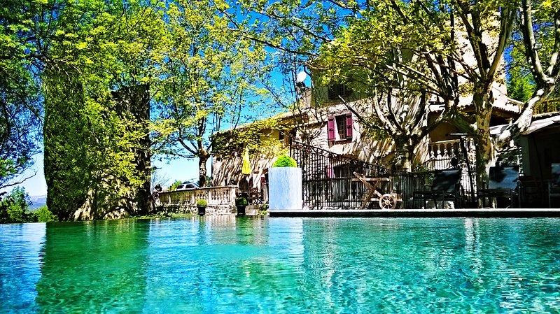 Le Mas des 5 Fontaines, Piscine et Spa, Chambres d'Hôtes, Grand Gite, Mariages, holiday rental in Alpes-de-Haute-Provence