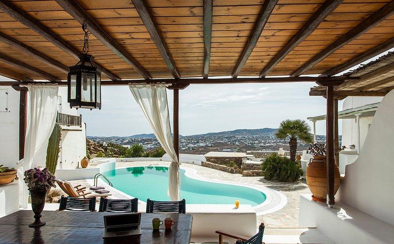 Pool Villa Milly, location de vacances à Agios Ioannis