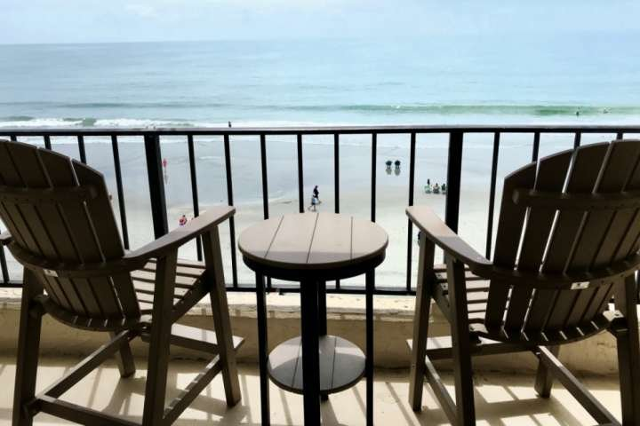 New comfortable balcony furniture to enjoy your view from