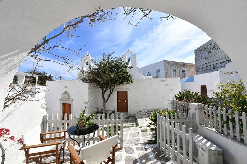 Kastro Cozy Guesthouse, location de vacances à Krotiri