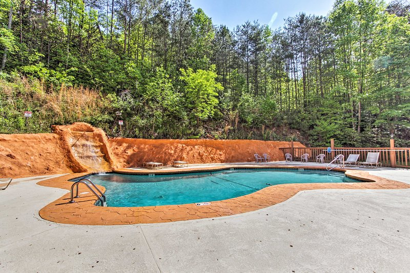 You'll have access to the community pool at Fox Run.