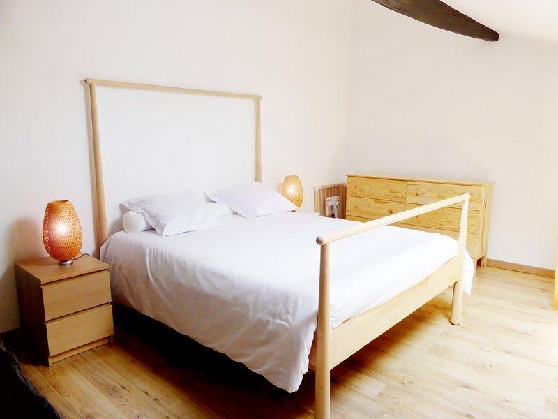 Les Logis des Vignobles Duplex 3, vacation rental in Saint-Etienne-De-Lisse