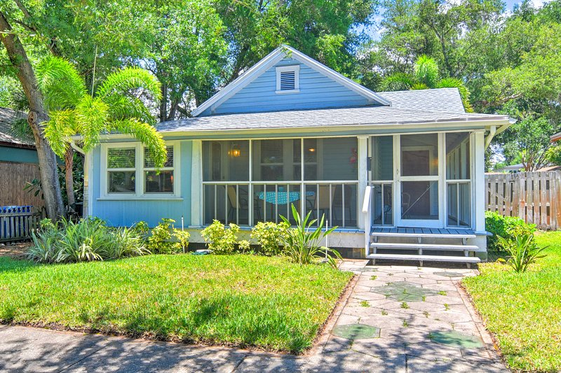 Rentals In St Pete Florida Over Christmas, 2020 Old St. Pete Bungalow   Downtown 1 Mi, Beach 8 Mi! UPDATED 2020