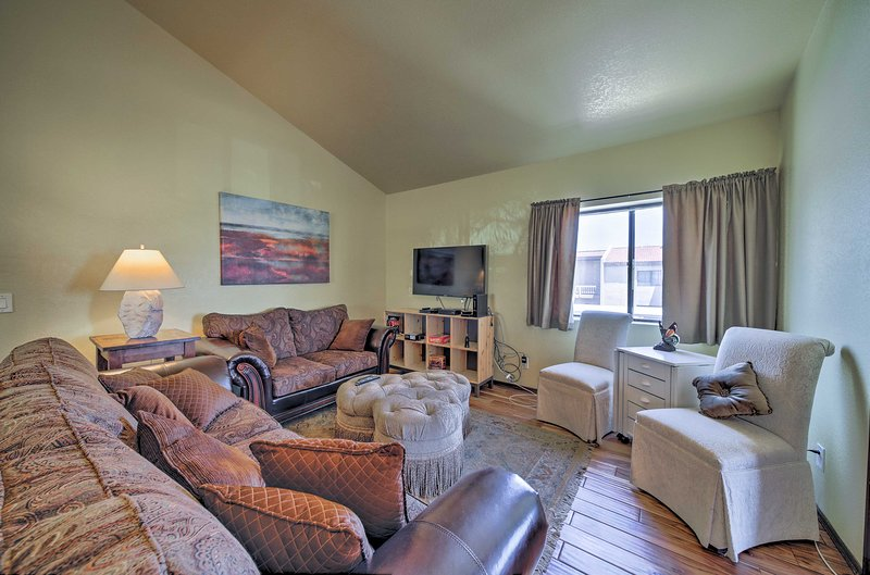 Perfect for a group of 4, this condo won't leave you needing a thing!