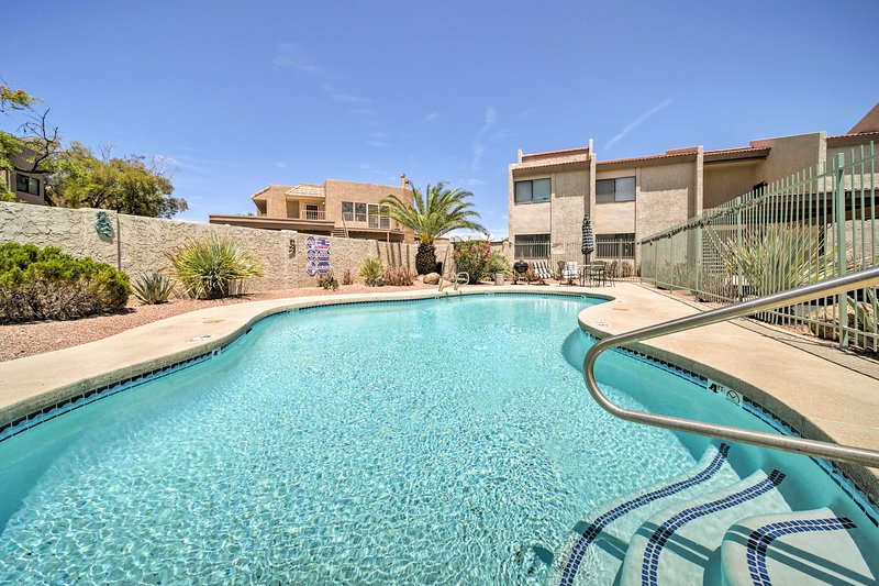 Escape the city with a stay in this quiet Fountain Hills vacation rental condo!