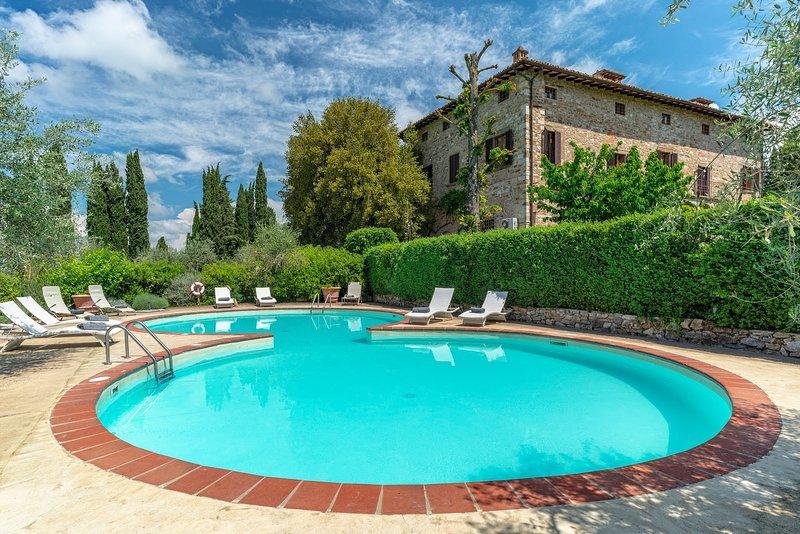 Villa Infinito, vakantiewoning in Barberino Val d'Elsa