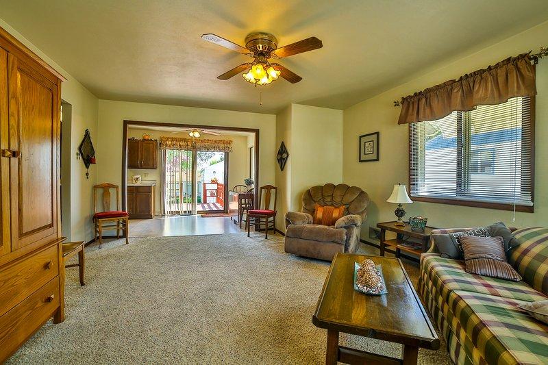 Quaint Cozy Cottage on East Side – semesterbostad i Sioux Falls