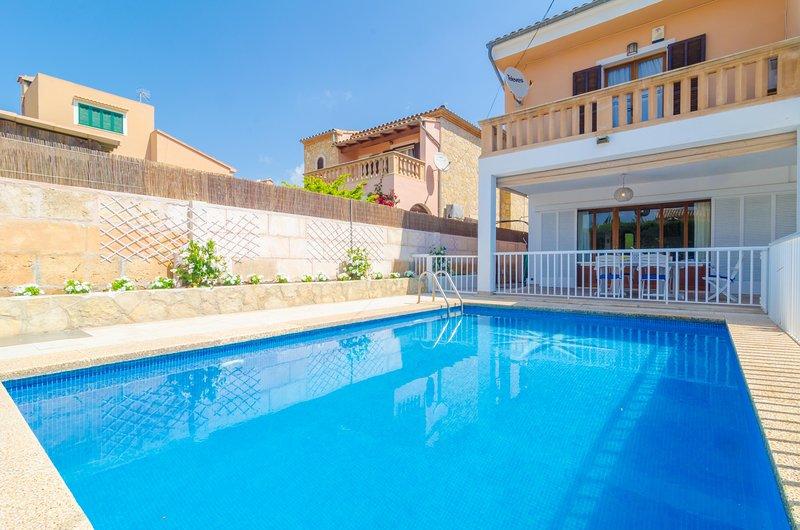 XALET CA S'HEREU - Villa for 8 people in Cala Millor, alquiler vacacional en Cala Millor