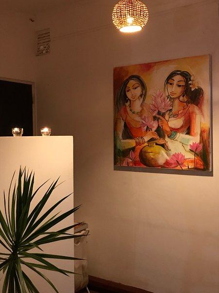 Genießen Sie in Sri Lanka Dekor in einer ruhigen Umgebung.