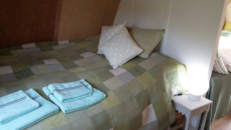 Tamaño de tipo sitio de la cama
