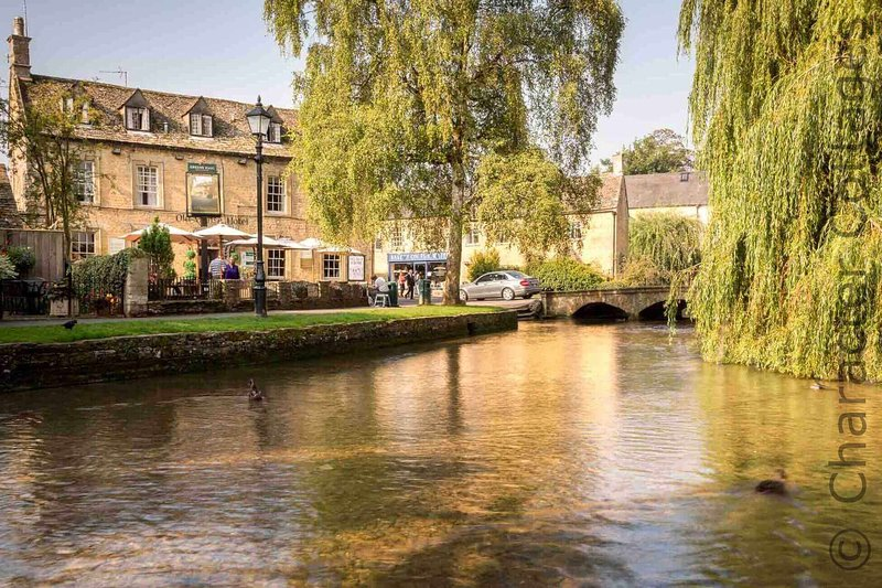 Bourton-on-the-Water is known locally as the 'Venice of the Cotswolds'